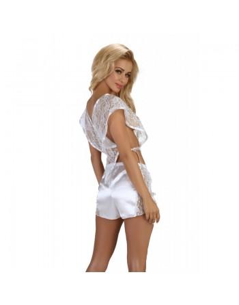 Marceline Top et Shorty - Blanc