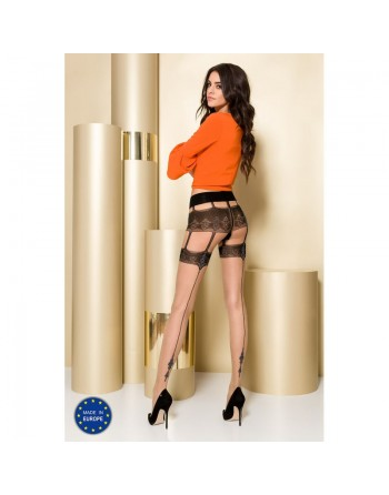 TI103 Collants 20 DEN - Nude et Gris