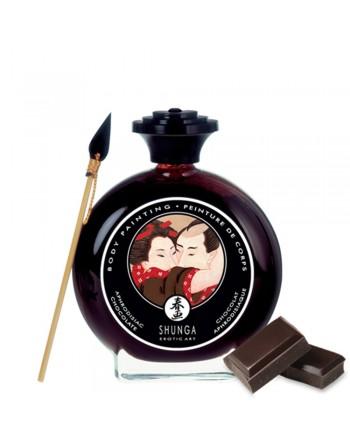 Peinture de corps comestible chocolat 100ml - CC817000