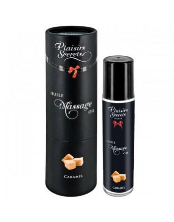 Huile de massage comestible caramel 59ml - CC826002