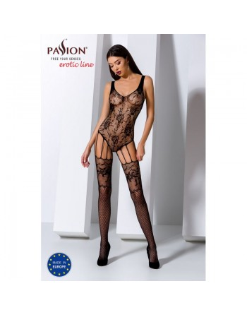 BS074B Bodystocking - Noir