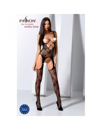 BS075B Bodystocking - Noir