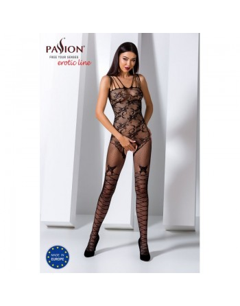 BS076B Bodystocking - Noir