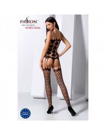 BS067B Bodystocking - Noir