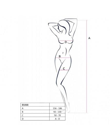 BS068B Bodystocking - Noir