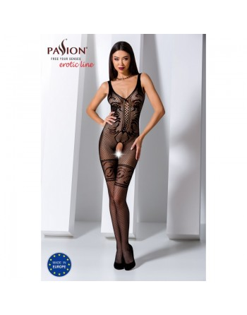 BS069B Bodystocking - Noir