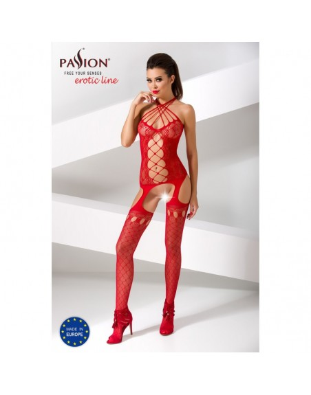 BS056R Bodystocking - Rouge