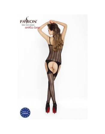 BS023 Bodystocking - Noir