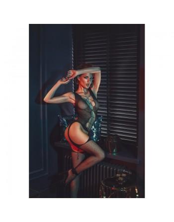 Chelsie Bodystocking - Noir
