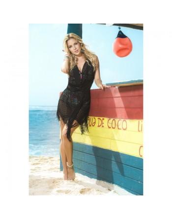 Robe de plage Style 7794 - Noir