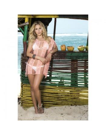 Robe de plage Style 7792 - Corail
