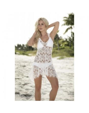 Robe de plage Style 7858 - Ivoire