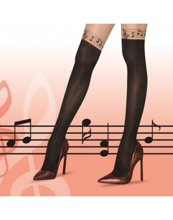 Collants notes de musique