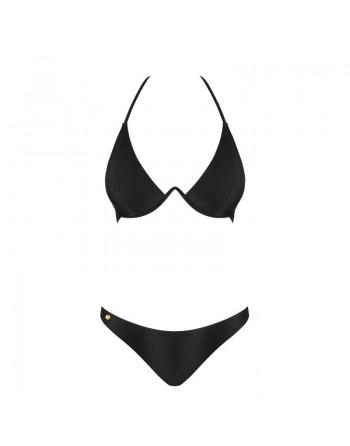 Maillot de bain bikini 2 pcs - Paralia - Noir